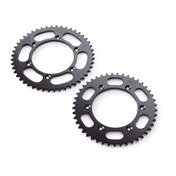 REAR SPROCKET Steel 42-52 Kugg Silver, KTM 125-530 92->, HQV 125-501 14->, HSB 125-570 09-14