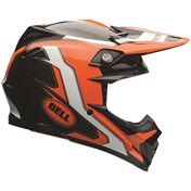 Bell Moto-9 Flex Factory MX Helmet Orange/Black