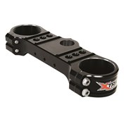 X-Trig Top Triple Clamp Black, KTM SX/SX-F 125-450 13-17, HQV 125-501 14-17