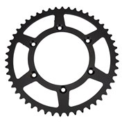 F.E Steel Rear Sprocket Black, HQV äldre, GasGas <-16