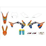 "GRAPHICS KIT ""FACTORY ENDURO"", KTM EXC/EXC-F 14-15"