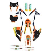 "GRAPHICS KIT ""FACTORY ENDURO"", KTM SX 125/150 16-17, SX 250 2017, SX-F 16-17, EXC/EXC-F/XC-W 2017"