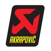 Akrapovic sticker 60x75 Heat resistant