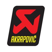 Akrapovic sticker 75x95 Heat resistant
