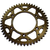 £ Supersprox BakDrev Alu. 49-51 Kugg Bronze, KTM SX 85 04->, HQV TC 85 14->