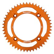 £ Supersprox BakDrev Alu. 48-51 Kugg Orange, KTM SX 85 04->, HQV TC 85 14->