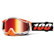 100% Racecraft Ultrasonic Goggles Mr. Red Lens