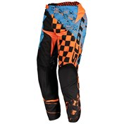 SCOTT 350 TRACK PANT BLUE/ORANGE