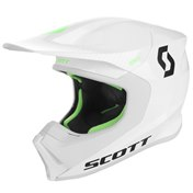 SCOTT 550 HATCH ECE HELMET WHITE