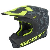 SCOTT 550 CAMO ECE HELMET BLACK/YELLOW