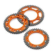 KTM REAR SPROCKET 48-50 Kugg ORANGE, KTM SX 85 03->