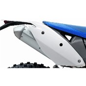 REAR FENDER WHITE, HSB FE 390 10-12, FE 450/570 09-12