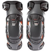Pod K1 Youth Knee Brace - Pair Grey/Orange