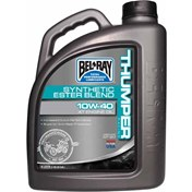 £ BEL-RAY THUMPER RACING DELSYNTET 4T 10W/40, 4 Liter