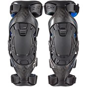 Pod K8 MX Knee Brace - Pair Carbon/Blue, S