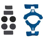 POD MX Motocross Knee Brace Spare K8 Pad Set - Left Blue, Vänster