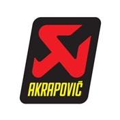 AKRAPOVIČ  STICKER 47x60 Not heat-resistant