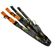 £ Cycra Spännband SET ORANGE, 2-pack