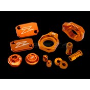 ZETA Billet Kit Orange, KTM SX/SX-F 250/350 07-12, XC-W 125 17-18, EXC/EXC-F 250-500 07-18