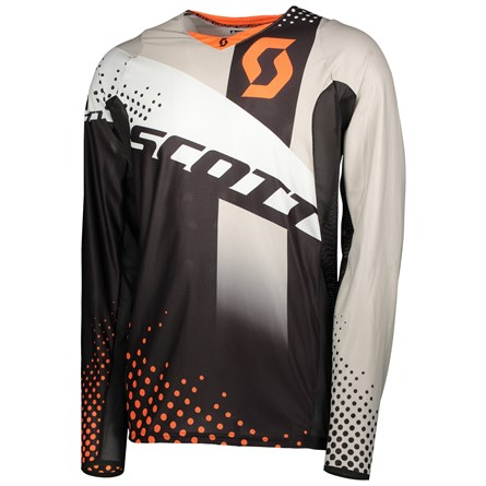 £ SCOTT JERSEY 450 ANGLED  ORANGE/BLACK