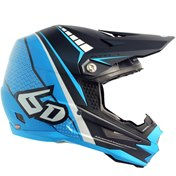 6D ATR-1 Edge Helmet Neon/Blue/Grey, L