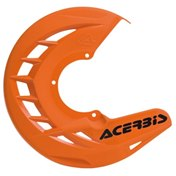 AC FRONT DISC COVER X-BRAKE 2.0 UNIVERSAL, ORANGE