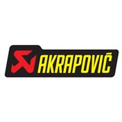 AKRAPOVIC STICKER 34 x 120 Heat resistant