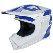 SCOTT 550 WOODBLOCK ECE HELMET GREY/BLUE, M