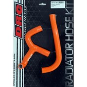 DRC Radiator Hose Kit Orange, KTM SX 65 09-15