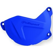 Polisport Clutch Cover Protection Blue, HQV FC 250/350 16-20, FE 250/350 17-18