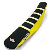 MotoSeat Ribbat Överdrag Limited Edition Black/Yellow, Suzuki RMZ 250 10-18