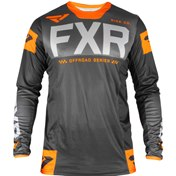 FXR HELIUM OFF-ROAD JERSEY 19 GREY/ORANGE