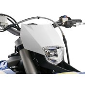HEADLIGHT MASK WHITE, HSB FE 450/570 2009