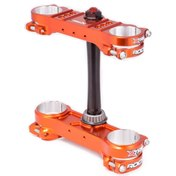X-Trig ROCS Triple Clamp Kit Orange, 20-22 mm Offset