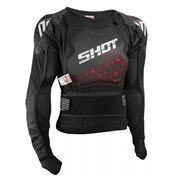 SHOT SKYDDSJACKA AIRLIGHT EVO KID BLACK, BARN, L